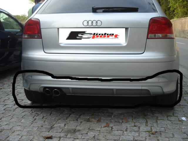 Used Audi A1 >> Rear spoiler S3 - Linha Sport