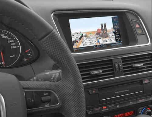 Sistema De Navegação Para Audi A4 B8 2g Linha Sport