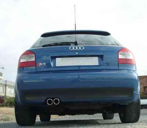 S3 8l Rear Bumper Linha Sport