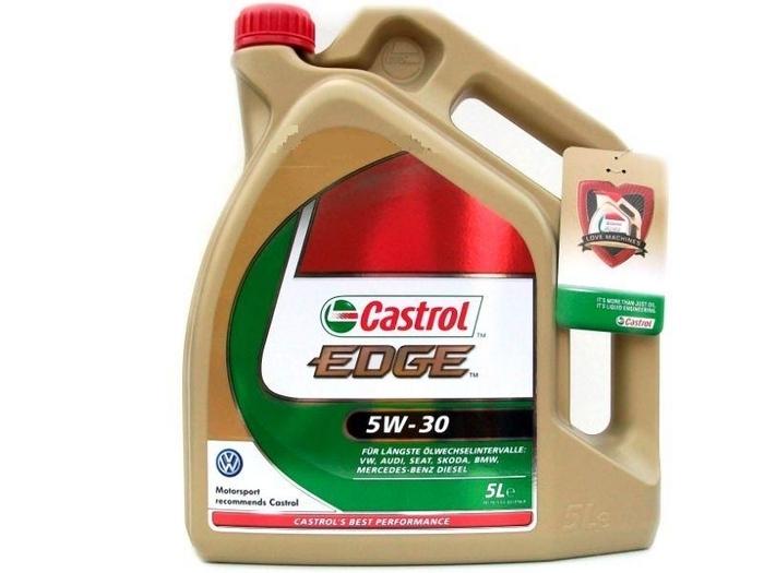 Castrol EDGE Motor oil Long Life III - 5W30 VW507 00 - 5L