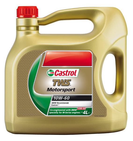 Castrol Motor Oil Tws 10w60 Bmw 4l